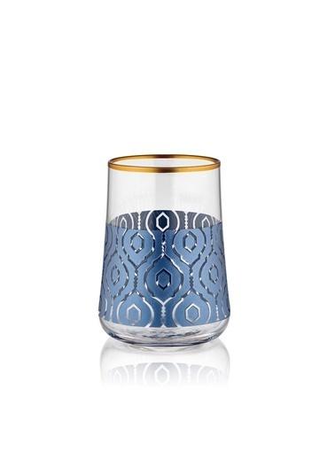 Koleksiyon Aheste Marakesh Antrasit 6'Lı Kahve Yanı Bardak Renkli